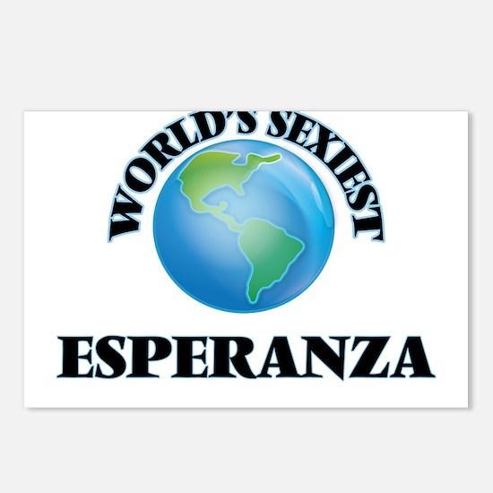 World's Sexiest Esperanza Postcards (Package of 8)