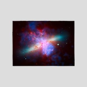 Fiery Galaxy 5'x7'Area Rug