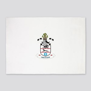 Coat of arms of Solihull Metropolit 5'x7'Area Rug