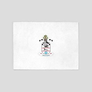 Coat of arms of Solihull Metropolit 5'x7'Area Rug