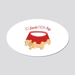 To Santa Wall Decal
