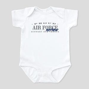 Proud Air Force Nephew (Blue) Infant Bodysuit