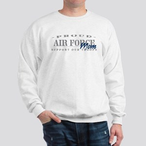 Proud Air Force Mom (Blue) Sweatshirt