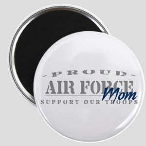 Proud Air Force Mom (Blue) Magnet