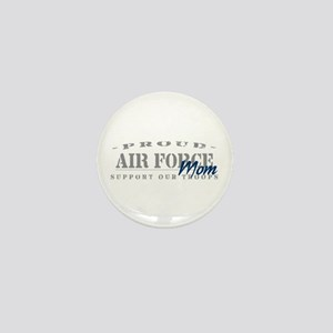 Proud Air Force Mom (Blue) Mini Button