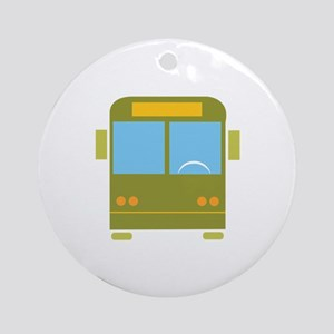 Bus_Base Ornament (Round)