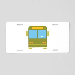 Bus_Base Aluminum License Plate