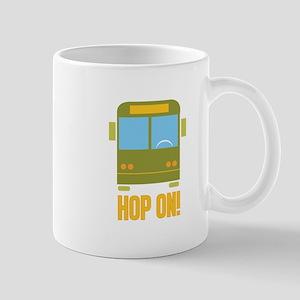 Bus_Hop_On Mugs