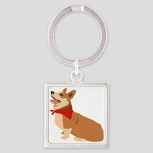 Corgi Dog Keychains