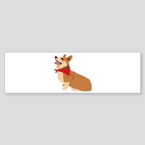 Corgi Dog Bumper Sticker