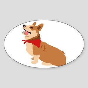 Corgi Dog Sticker