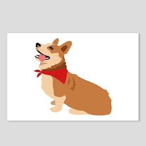 Corgi Dog Postcards (Package of 8)