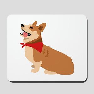 Corgi Dog Mousepad