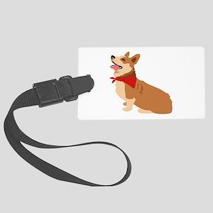 Corgi Dog Luggage Tag