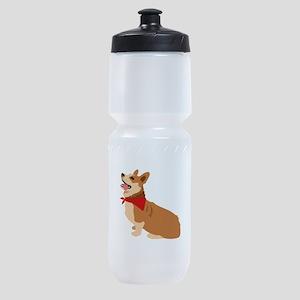 Corgi Dog Sports Bottle