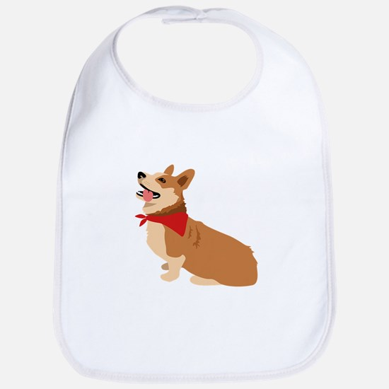 Corgi Dog Bib