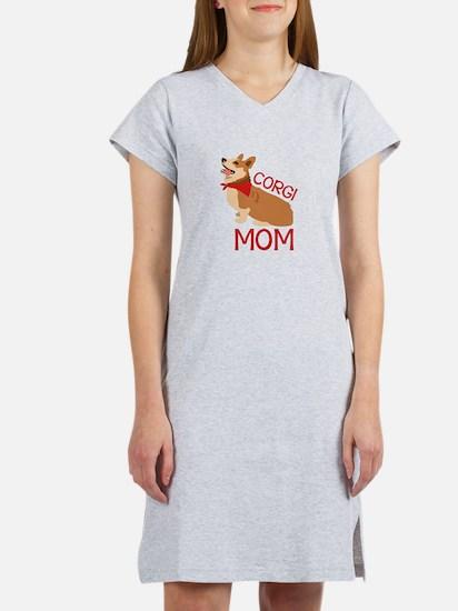 Corgi Mom Women's Nightshirt