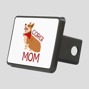 Corgi Mom Hitch Cover