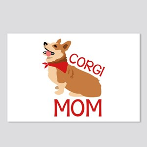 Corgi Mom Postcards (Package of 8)