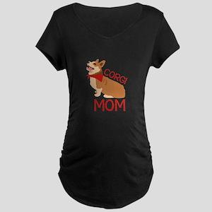 Corgi Mom Maternity T-Shirt