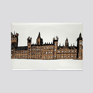 Graphical Sketch Houses of Parliament Magnets