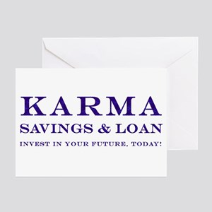 Karma Savings Loan Greeting Cards (Pk of 10)