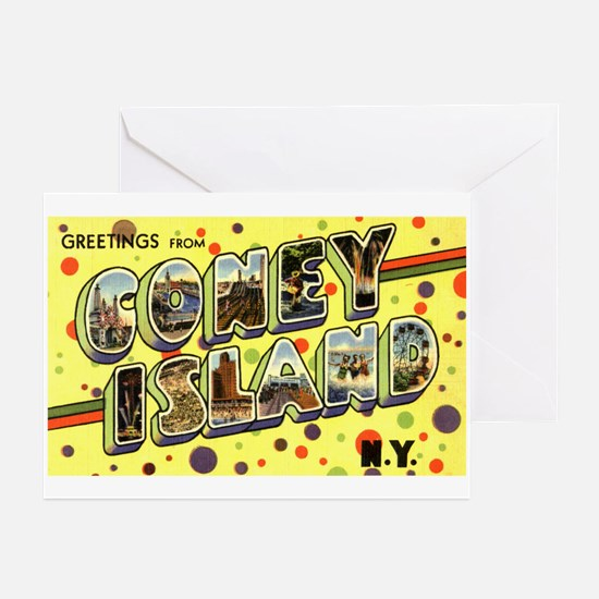 Greetings from Coney Island Greeting Cards (Packag
