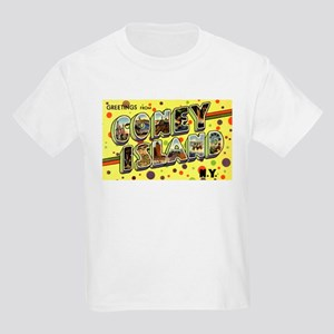 Greetings from Coney Island Kids Light T-Shirt