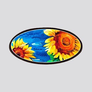 Sunflowers Painting Patches