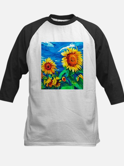 Sunflowers Painting Baseball Jersey