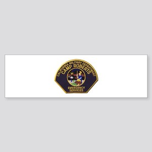 Camp Roberts Emergency Bumper Sticker