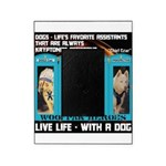 Chief Czar Live Life With A Dog Picture Frame