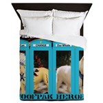 Chief Czar Live Life With A Dog Queen Duvet