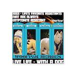 Chief Czar Live Life With A Dog Sticker