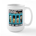 Chief Czar Live Life With A Dog Mugs