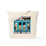 Chief Czar Live Life With A Dog Tote Bag