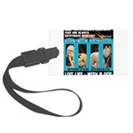 Chief Czar Live Life With A Dog Luggage Tag