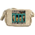 Chief Czar Live Life With A Dog Messenger Bag