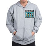 Chief Czar Live Life With A Dog Zip Hoodie