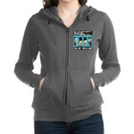 Chief Czar Live Life With A Dog Women's Zip Hoodie