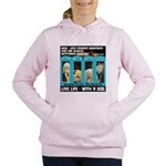 Chief Czar Live Life With A Dog Women's Hooded Swe