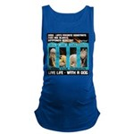 Chief Czar Live Life With A Dog Maternity Tank Top