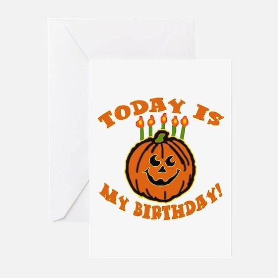 My Halloween Birthday Greeting Cards (Pk of 10