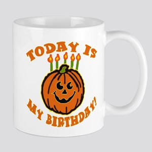 My Halloween Birthday Mug