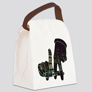 LA Canvas Lunch Bag