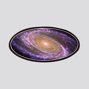 Violet Spiral Galaxy Patches
