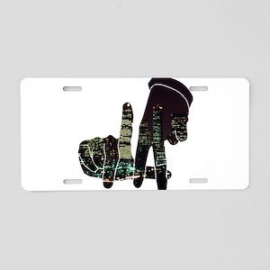 LA Aluminum License Plate