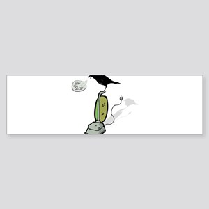 Crow Gawk Vacuum Frustrated cheap o Bumper Sticker