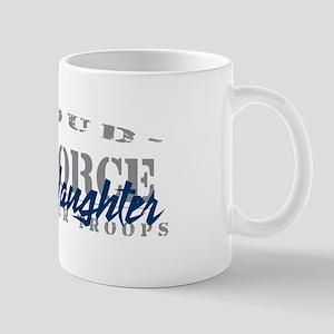Proud Air Force Daughter (Blue) Mug