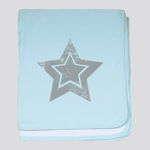 Cowboy star baby blanket